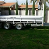14x7 Flat Top Trailer with Floating Beaver Tail